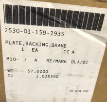 ar68935-john-deere-brake-backing-plate-assy Image